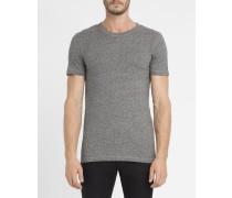 Graues T-Shirt Makora mit Rundhalsausschnitt