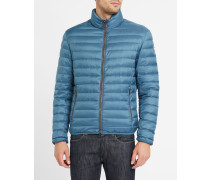 Petrolblaue Daunenjacke Light 1279
