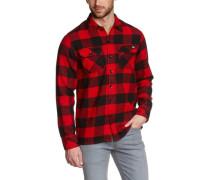 Sacramento Plaid Check Shirt Red