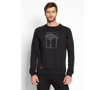 T.O.L. Print Crew Sweater