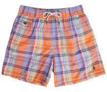 Orange Badehose Madras