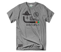 RC Archive Tree Tee T-Shirt grau (ASH HEATHER)