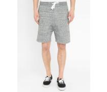 Grau melierte Jersey-Shorts Rufin
