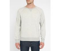 Graues Sweatshirt mit eingeprägtem Logo