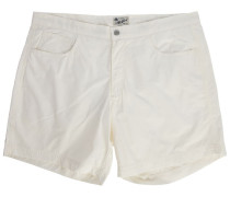 Weiße 5-Pocket-Badehose