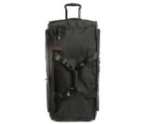 Black Large Wheeled Alpha Travel 2-Wheeled Suitcase