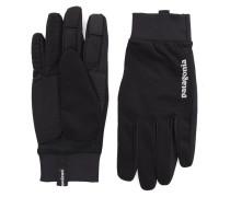 Schwarze Handschuhe Wind Shield Nylon