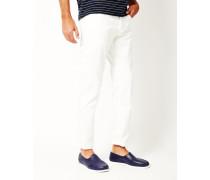 White Slim Jeans White