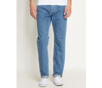Feste Jeans Tapered Fit Texas Hanford in Washed-Hellblau