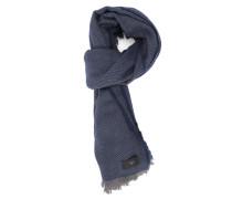 Einfarbig blauer Schal Tumar