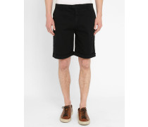 Schwarze Chino-Shorts Pito