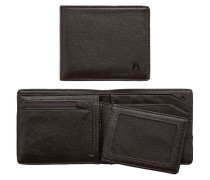 Braune Brieftasche Satellite Big Bill Bi-Fold ID