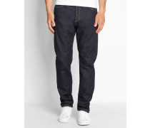 Jeans Tapered Fit Texas Hanford in Washed-Blau