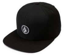 Quarter Twill Cap schwarz (BLACK)