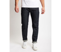 ED-80 Red Listed Selvidge Slim Tapered Jean Navy