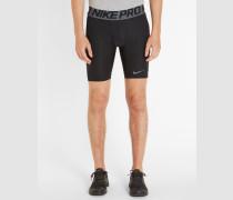 Schwarze Shorts Pro Compression Hypercool 6'