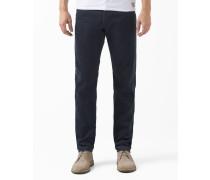 Jeans Regular Tapered Fit Samt Klondike Marineblau