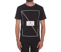 Line Through BSC SS T-Shirt schwarz (BLACK)