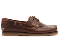 Braune Bootsschuhe Classic Leder