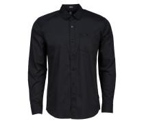 Everett Hemd schwarz (BLACK)