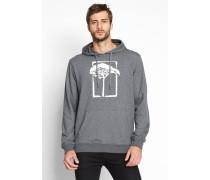 T.O.L. Print Hood Sweater