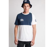 Classic Europa T-Shirt White/Navy