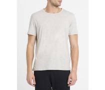 T-Shirt mit Rundhalsausschnitt Odamint in Vintage-Grün