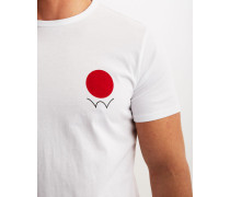 Red Dot Logo T-Shirt White