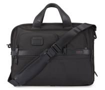 Schwarze Computertasche mit Reißverschluss Alpha 2