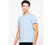 Classic Marl T-Shirt Blue