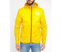 Gelbe Regenjacke Packable