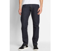 Jeans Tapered Fit Vicious Madera in Washed-Blau