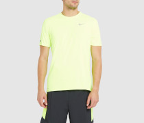 Gelbes T-Shirt Running Dri-Fit Contour