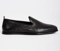 Ipanema Weave Woven Slip-On Black