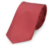 Bordeauxrote Krawatte Textured