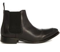 Chelsea Boots Lydon aus schwarzem Leder