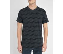 Anthrazitgraues T-Shirt ZigZag