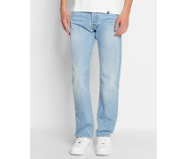 Ausgewaschen hellblaue Jeans Straight Fit Oakland Edgewood