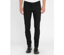 Slim-Jeans in Schwarz