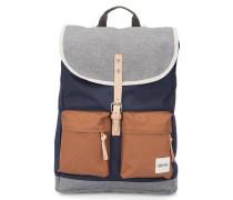 Marineblauer Rucksack mit 2 Taschen Hammerhead 19 L Tricolore