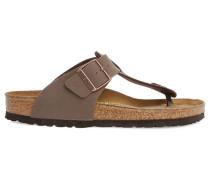 Braune verstellbare Flip-Flops Medina