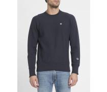Blaues Sweatshirt mit Classic-Logo