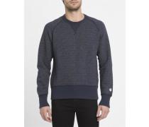 Blaues Sweatshirt Todd Snyder mit Kontrasten