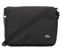 Schwarz-weiße Messenger Bag Pr