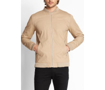 7410 Jacket In Bomber Style With Zip