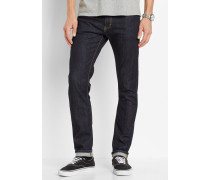 Rebel 5 Pocket Slim Jean Blue