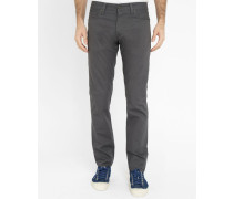 Graue Slim-Jeans Regular Klondike II
