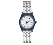 Small Time Teller Uhr silber (Navy/Silver)