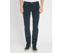 Blaugraue Slim-Jeans Spector