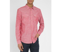 Rotes Hemd Two Pocket